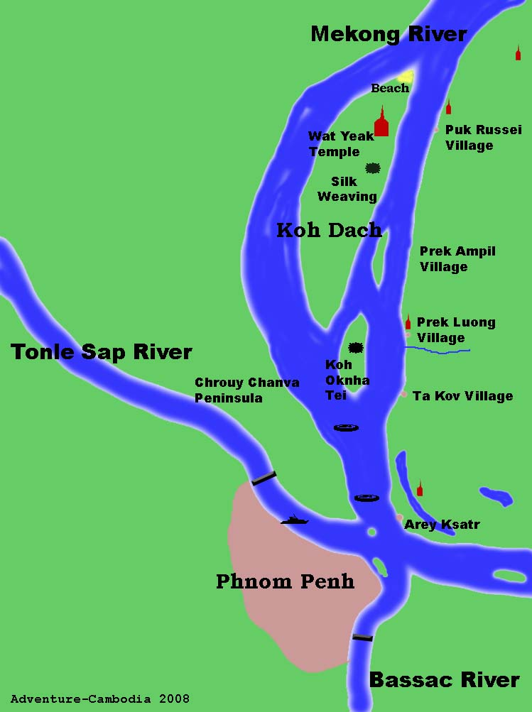 Four Rivers Map