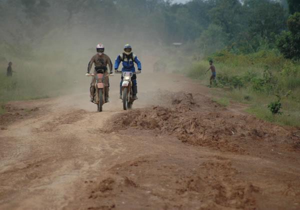 Anlong Veng motorcycle adventure