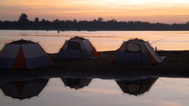 Cambodia Camping