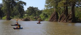 mekong river kayaking