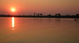 Mekong River Sunset
