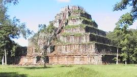 cambodia Koh Ker pyramid temple