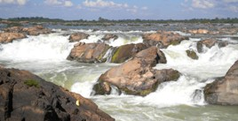 Mekong River Waterfalls